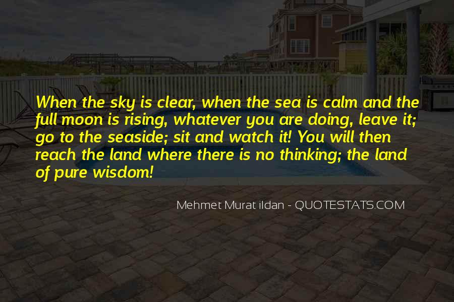 Sea And Sky Quotes #368718