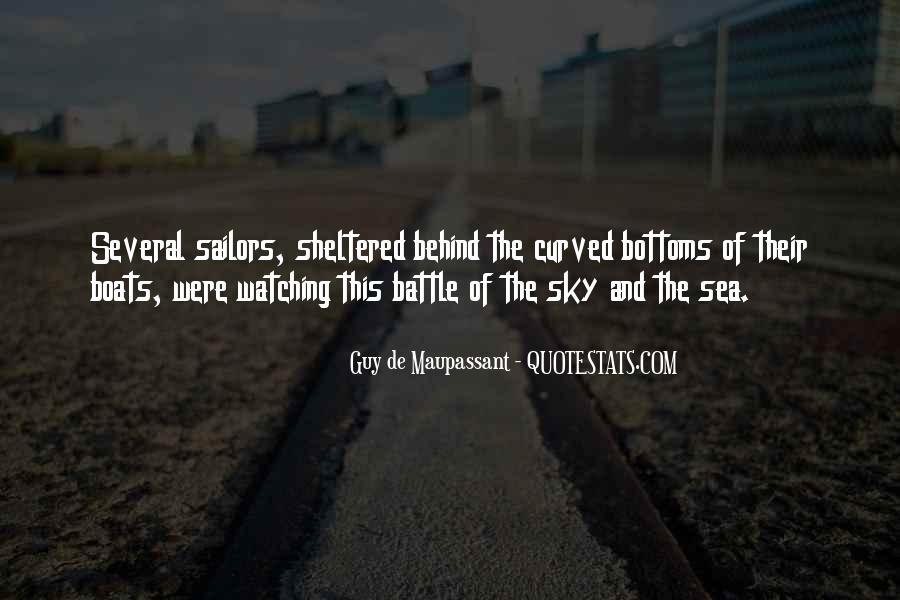 Sea And Sky Quotes #378423
