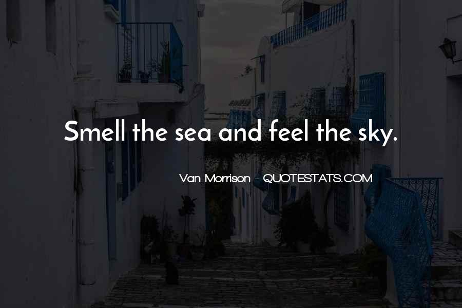 Sea And Sky Quotes #449219