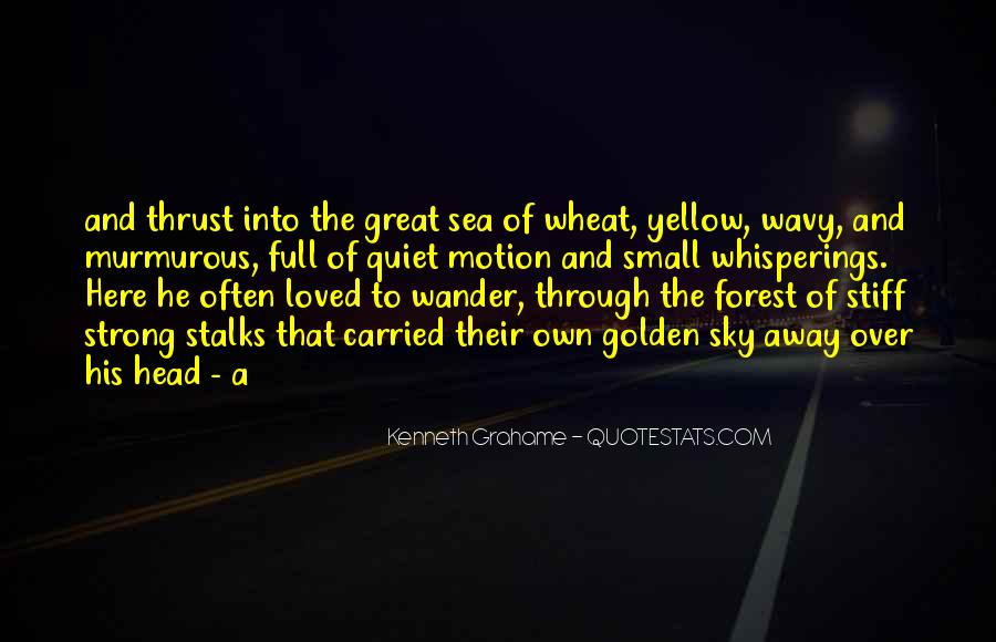 Sea And Sky Quotes #496800