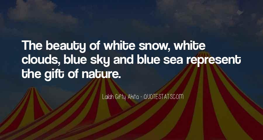 Sea And Sky Quotes #497547