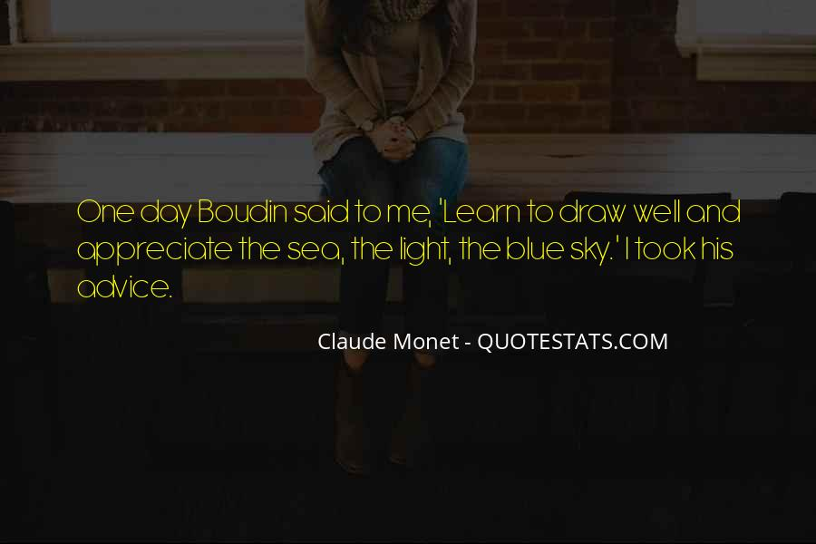 Sea And Sky Quotes #608854
