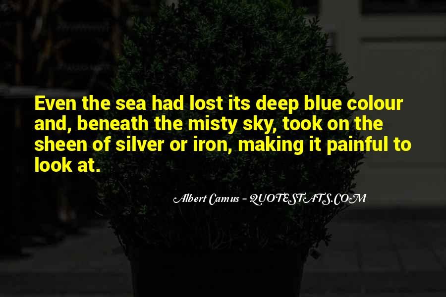 Sea And Sky Quotes #654366