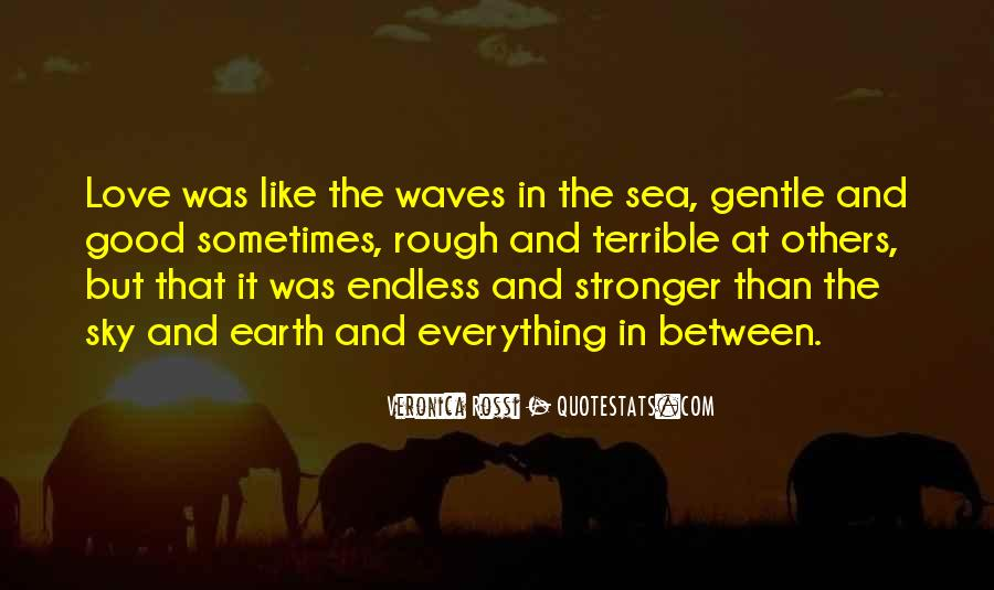 Sea And Sky Quotes #73802