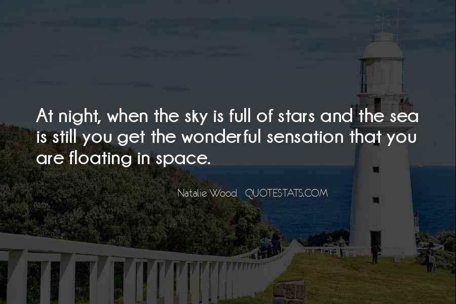 Sea And Sky Quotes #751659