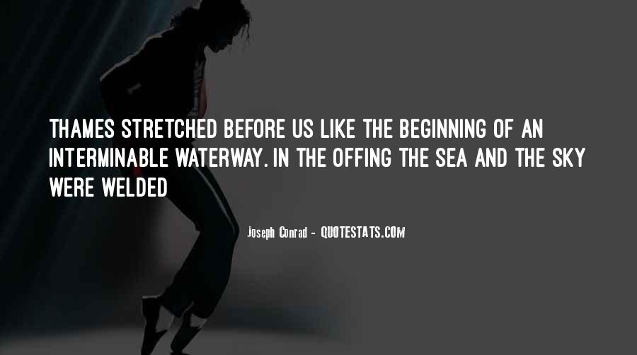 Sea And Sky Quotes #925603