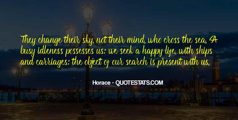 Sea And Sky Quotes #926484