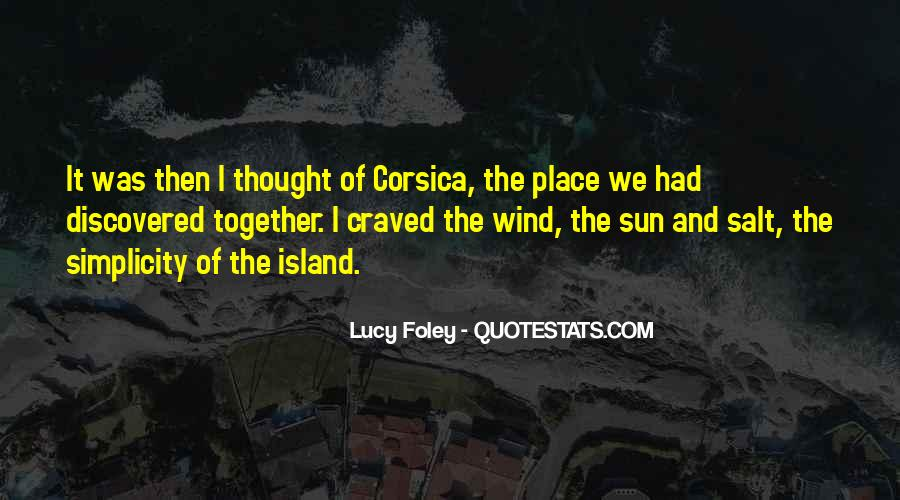 Sea And Sun Quotes #1283882