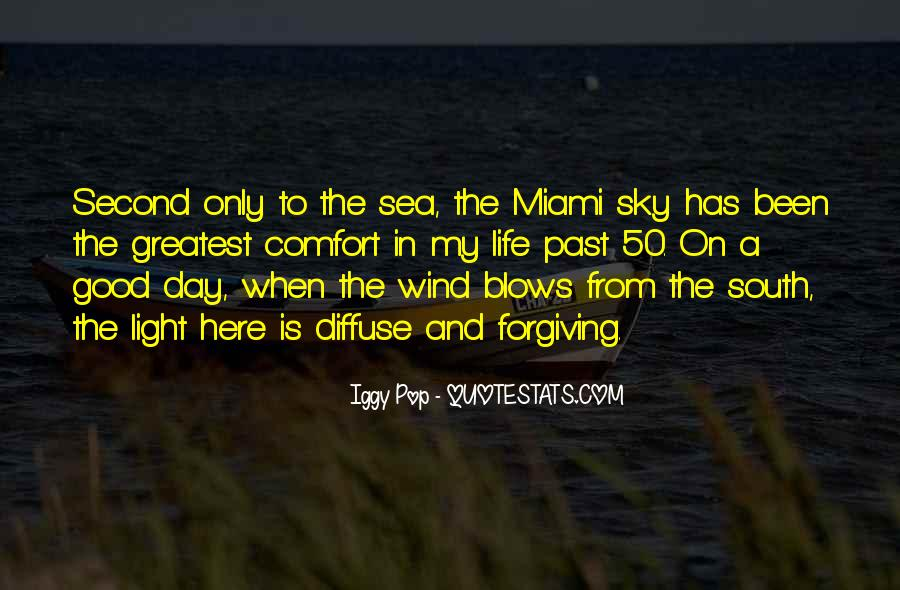 Sea Is My Life Quotes #216149