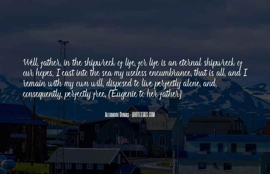 Sea Is My Life Quotes #52568