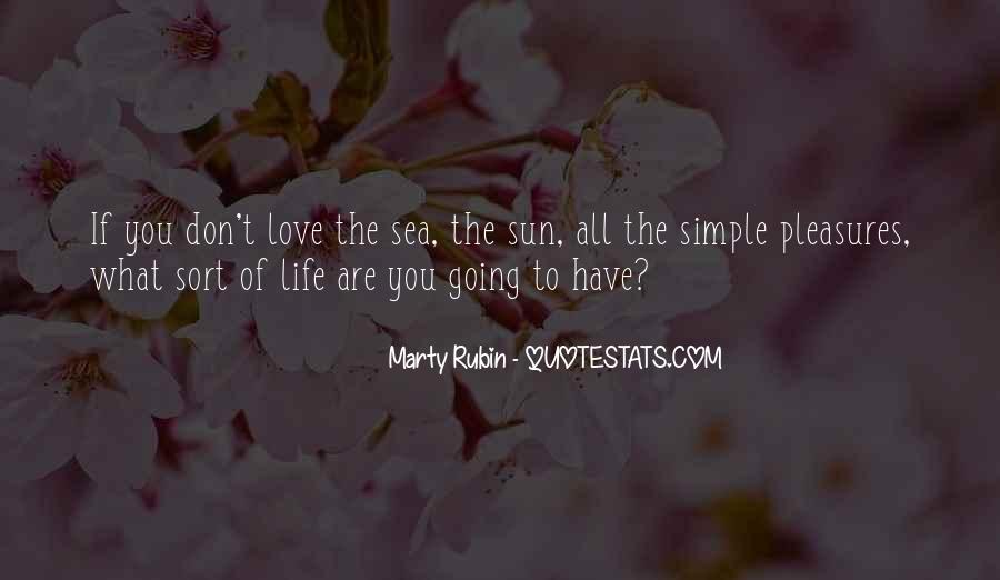 Sea Is My Life Quotes #88894