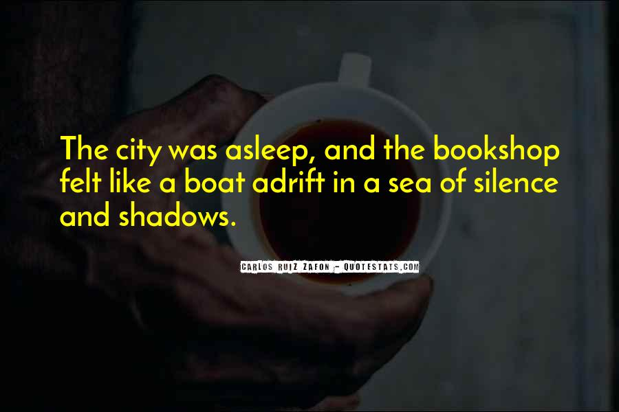 Sea Of Shadows Quotes #1414996