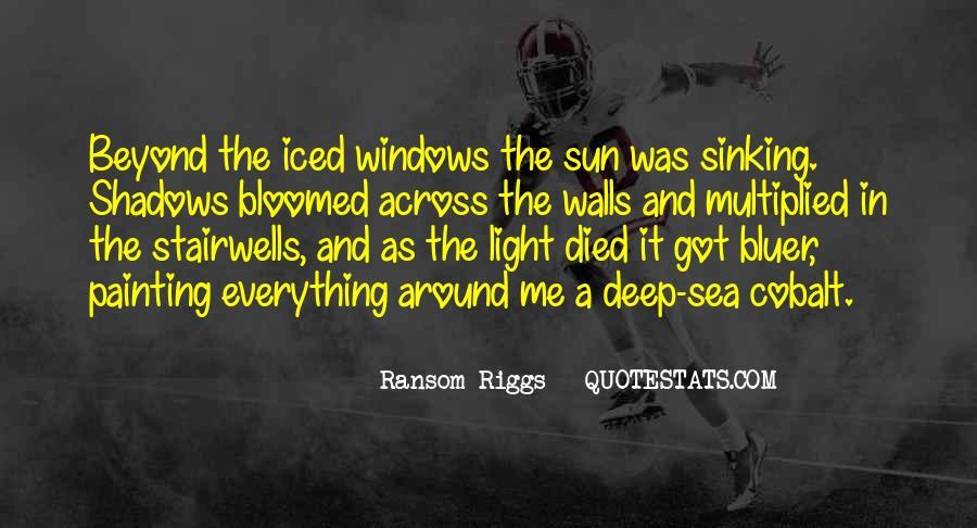 Sea Of Shadows Quotes #738876
