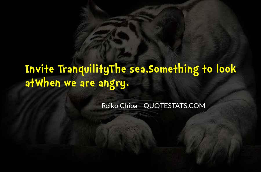 Sea Of Tranquility Quotes #129332