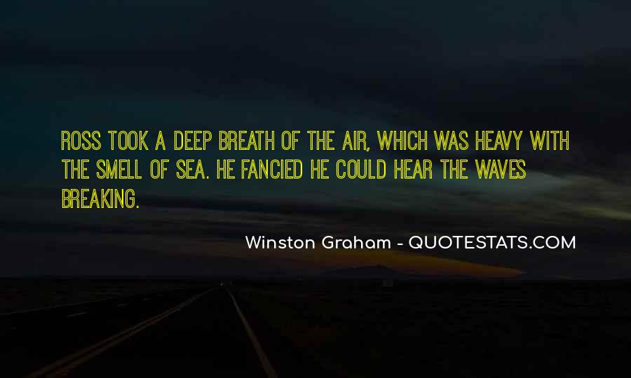 Sea Smell Quotes #1405917