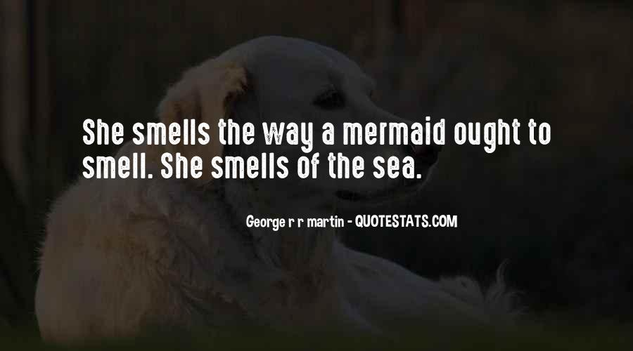 Sea Smell Quotes #1696786