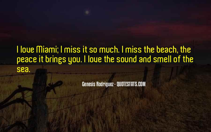 Sea Smell Quotes #1787127