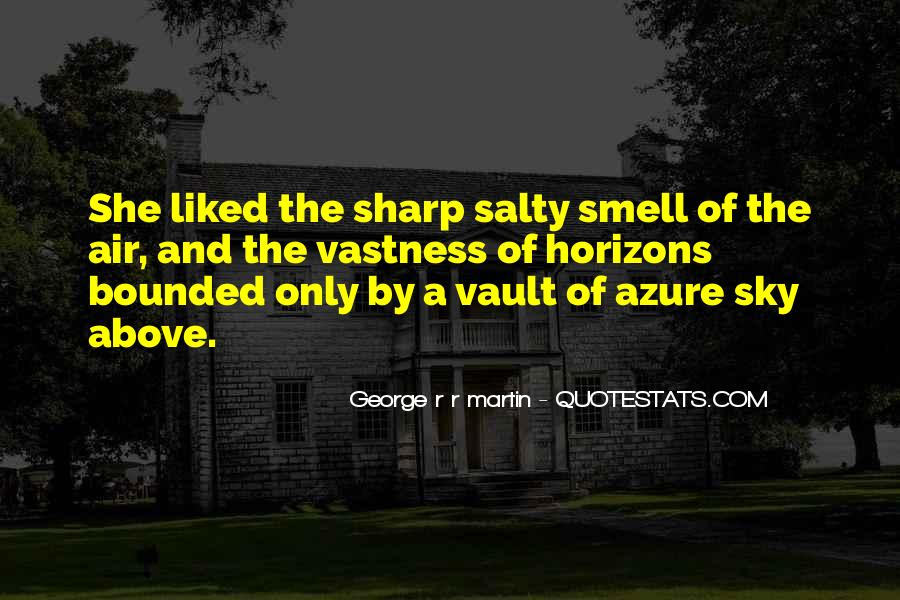 Sea Smell Quotes #472747