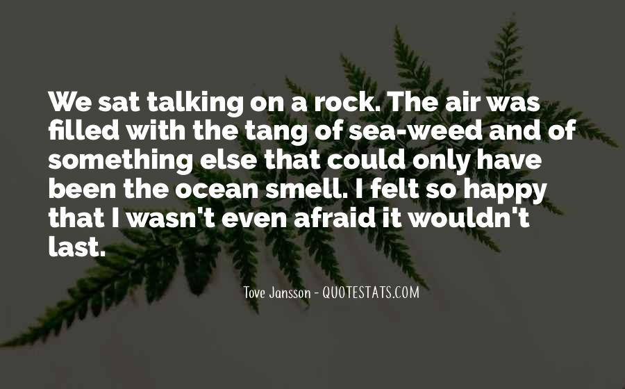Sea Smell Quotes #896636
