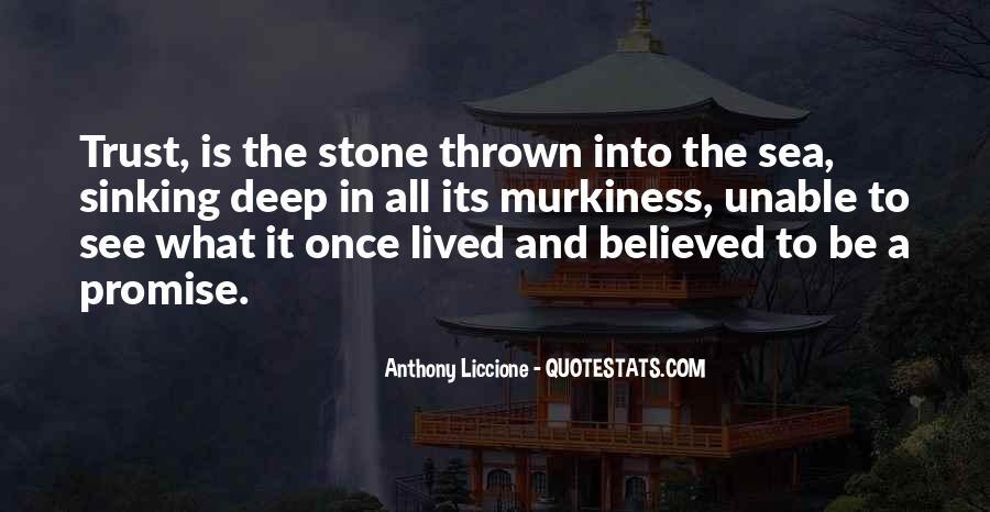Sea Stone Quotes #1262534