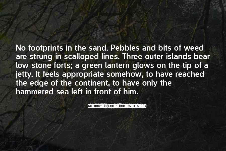 Sea Stone Quotes #1307276