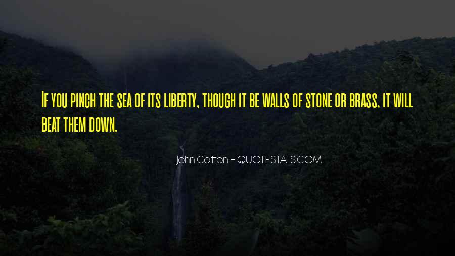 Sea Stone Quotes #1681647