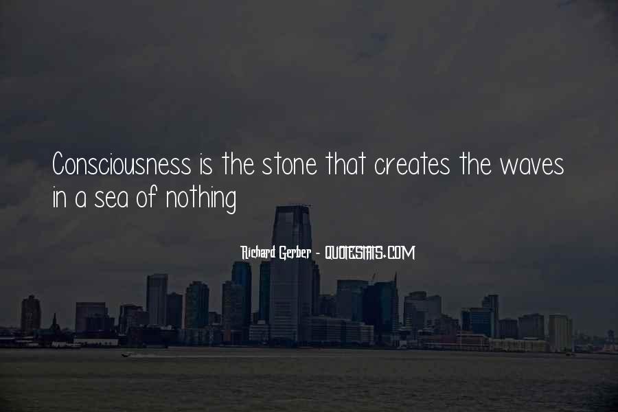 Sea Stone Quotes #1765950