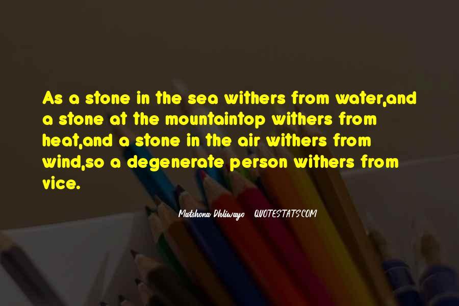 Sea Stone Quotes #358115
