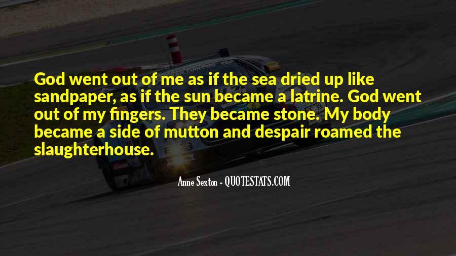 Sea Stone Quotes #550353