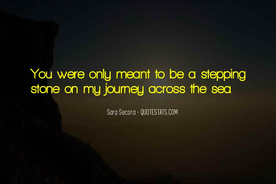 Sea Stone Quotes #818017