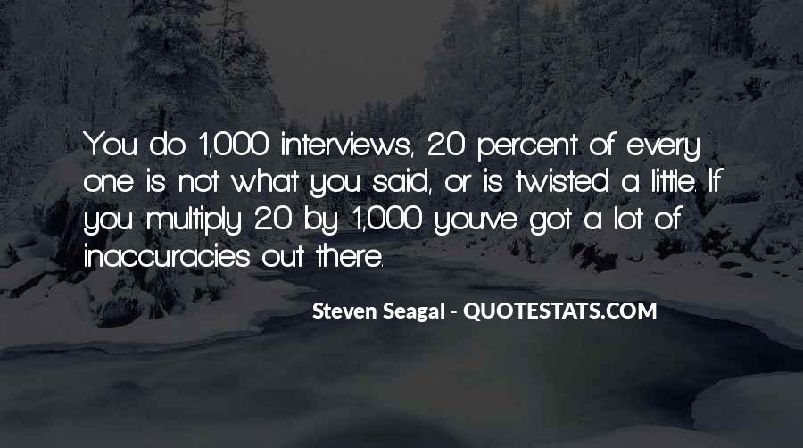 Seagal Quotes #1606990