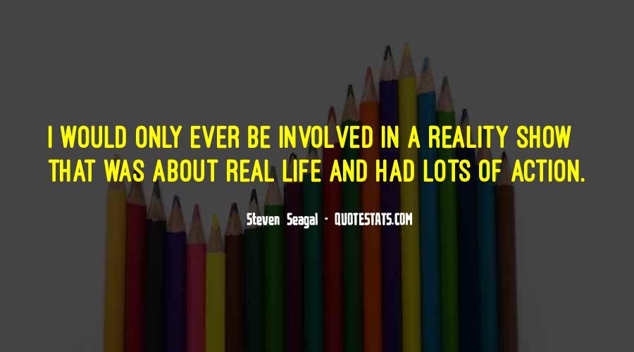 Seagal Quotes #1627475
