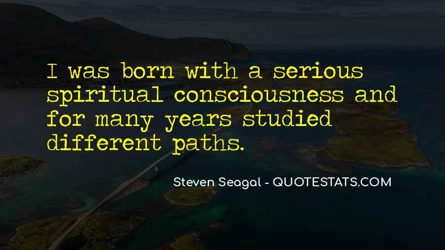Seagal Quotes #1804899