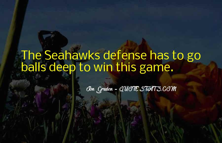 Seahawks Football Quotes #1044576