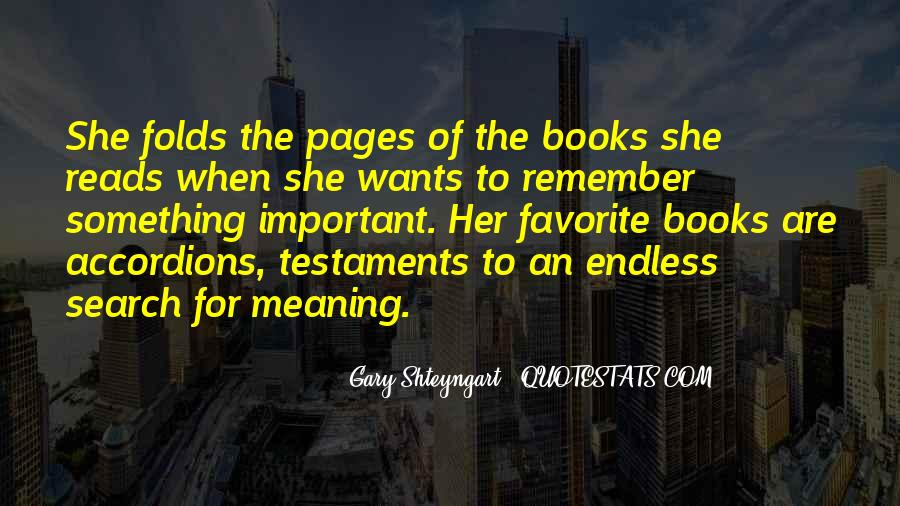 Search For Significance Quotes #471544