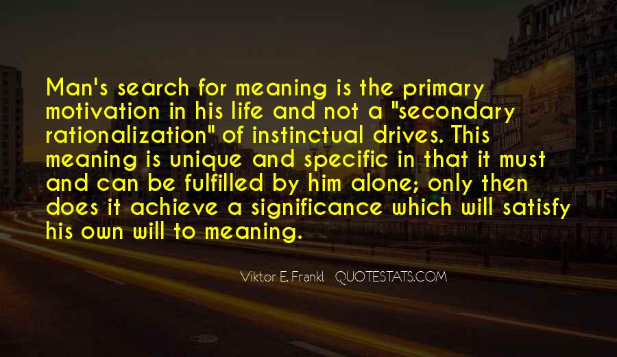 Search For Significance Quotes #538468