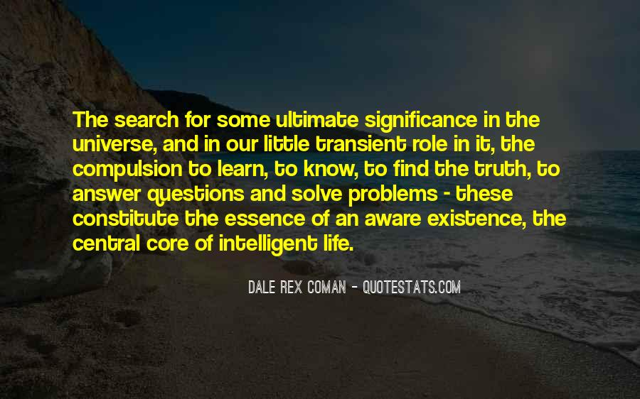 Search For Significance Quotes #574262