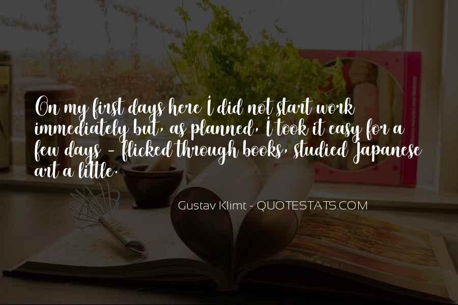 Quotes About Gustav Klimt #1116544