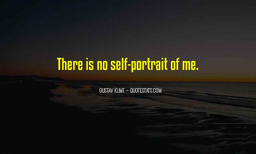 Quotes About Gustav Klimt #127045