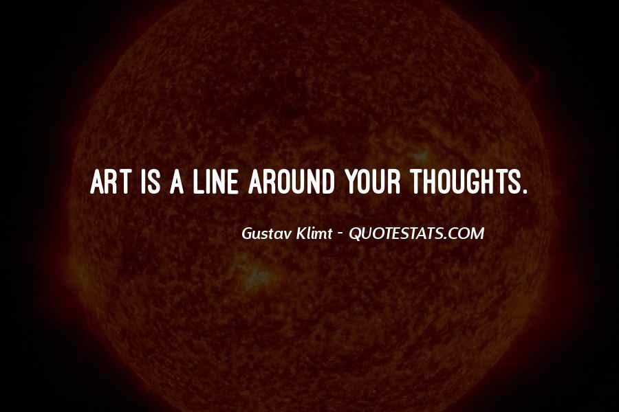 Quotes About Gustav Klimt #1374866