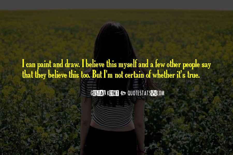 Quotes About Gustav Klimt #1821069