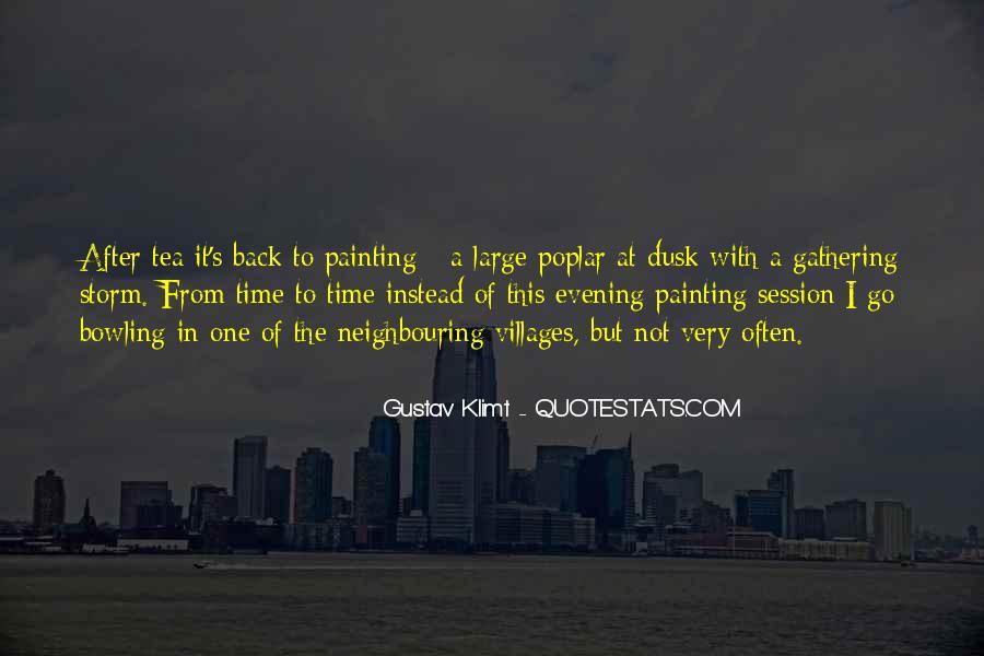 Quotes About Gustav Klimt #212711