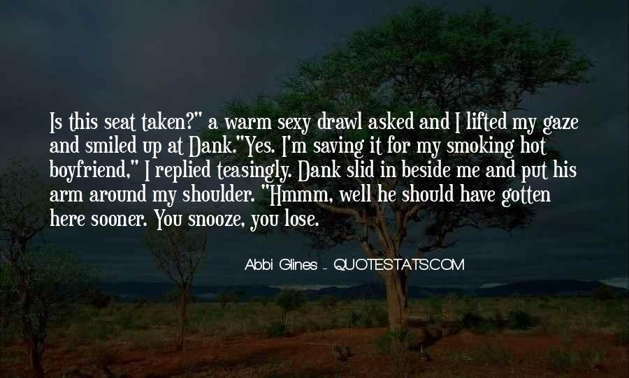 Seat Beside Me Quotes #1133893