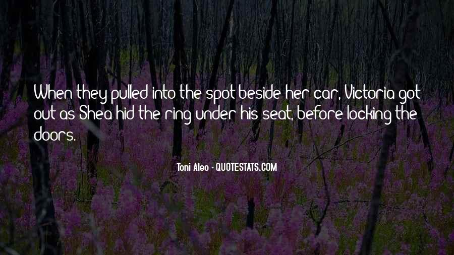 Seat Beside Me Quotes #1338837