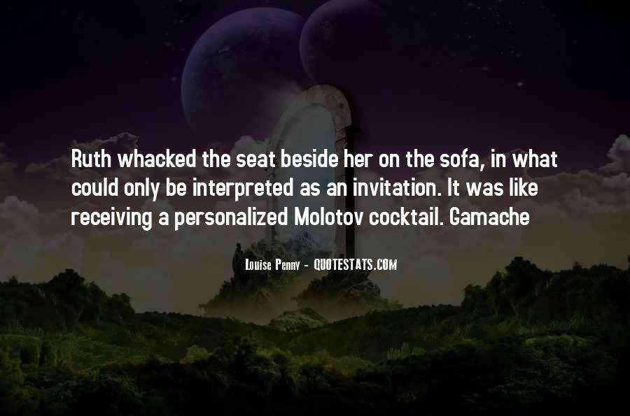 Seat Beside Me Quotes #1681639