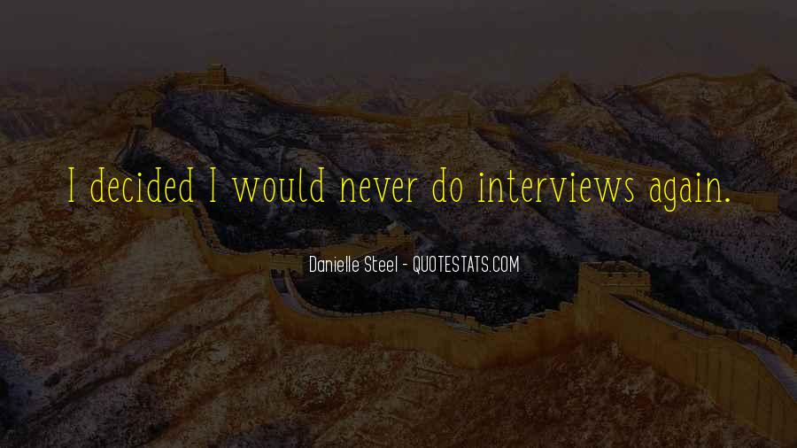 Quotes About Danielle Steel #11537