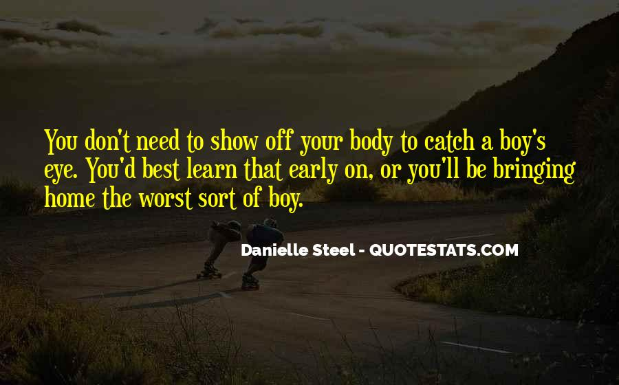 Quotes About Danielle Steel #323249