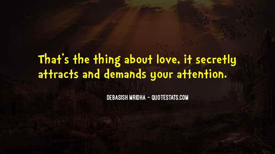 Secretly Love You Quotes #1671086