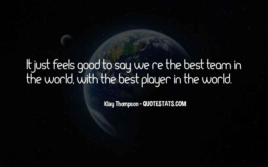 Quotes About Klay Thompson #1724695