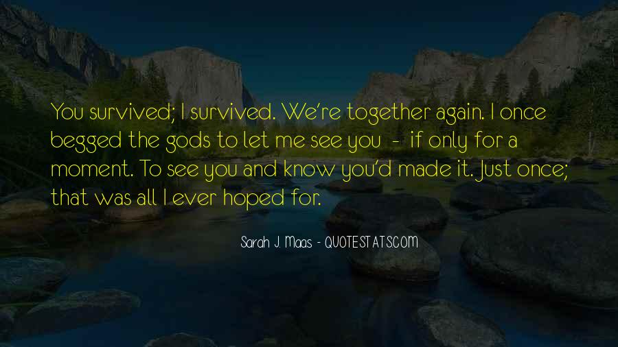 See Me Again Quotes #307404